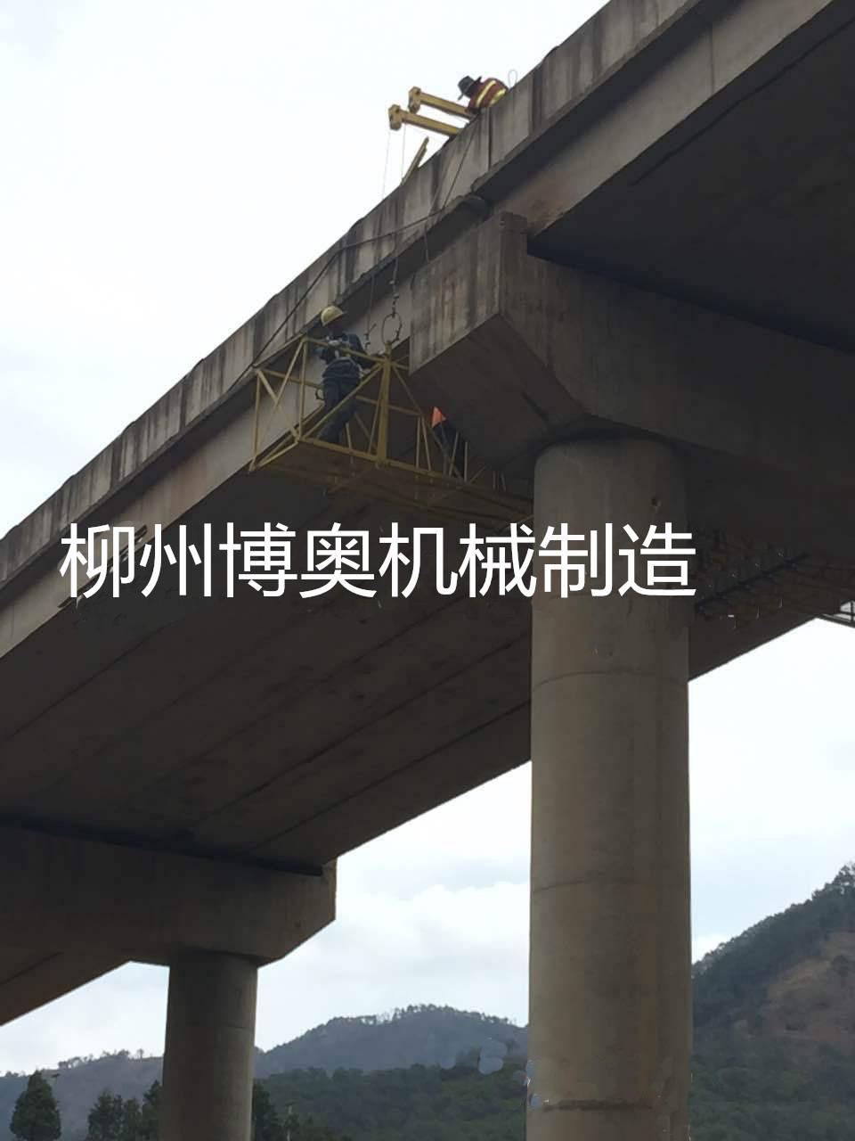 廣西柳州二十二米橋梁檢測車的實際操作