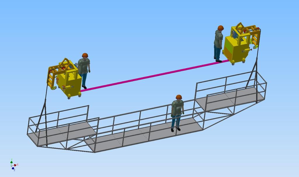 桥梁检测挂篮5
