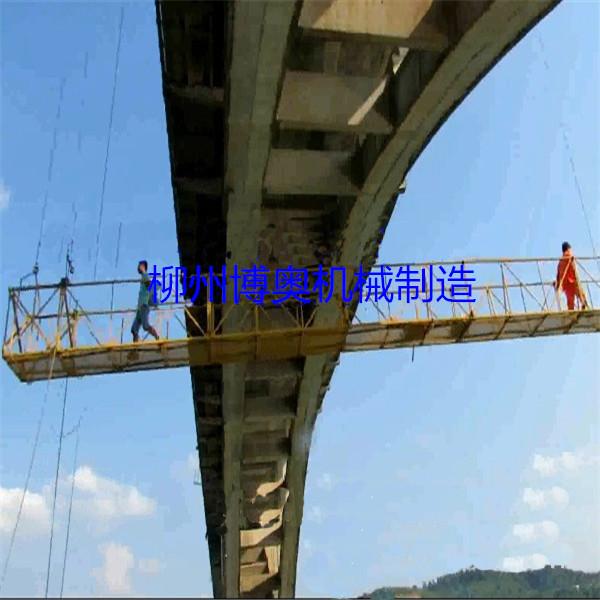 新型橋梁檢測車和傳統車載型橋檢車優秀便捷太多!