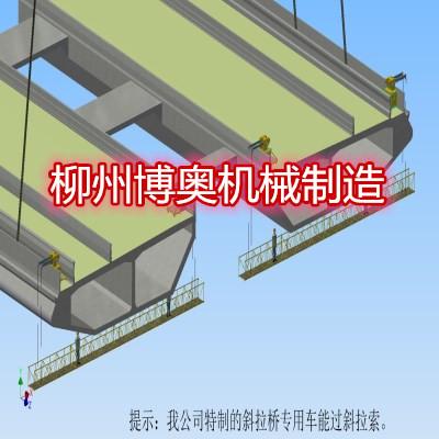 可定制的新型桥梁检测车的优势特点