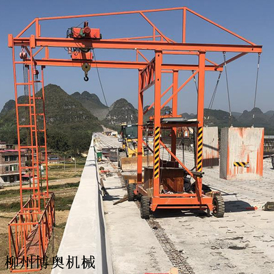 高速路桥梁护栏模板台车