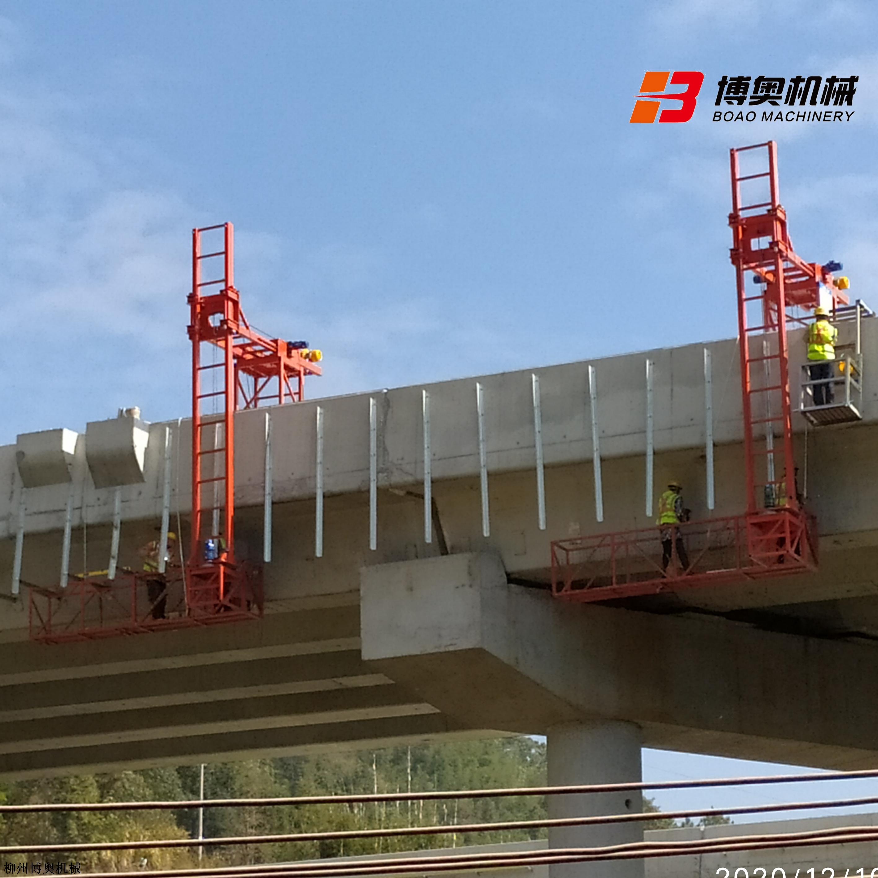 高速橋梁排水管安裝設備