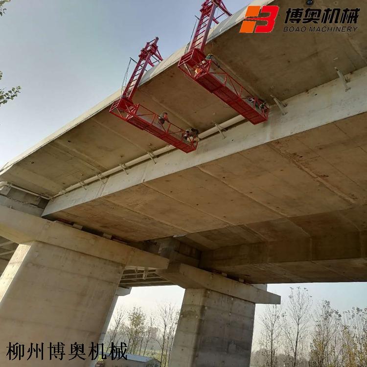 橋梁側面排水管安裝設備