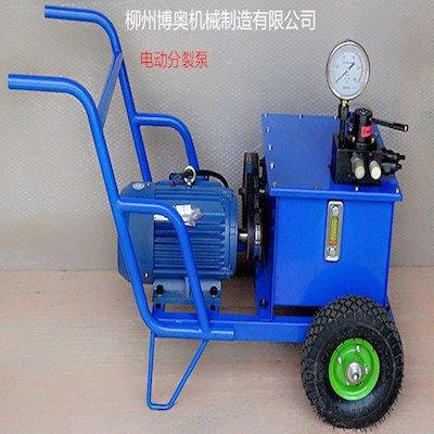 博奧汽油型超高壓液壓泵站