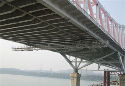 在桥梁检测中运用桥梁检测车效果看的见