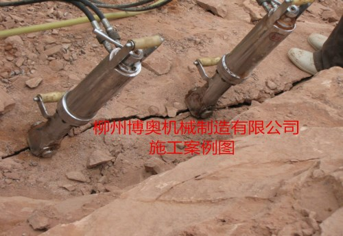 開礦中遇到巖石堅硬難以破碎怎么辦?--江西案例