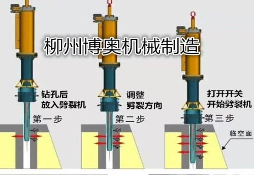 ?玉林專用大型礦山開采設備——大型巖石劈裂機