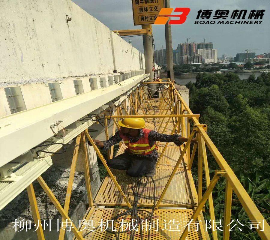 高架橋梁pvc排泄水管安裝吊籃設備哪些比較實用?