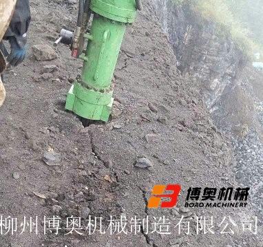 大型巖石劈裂機