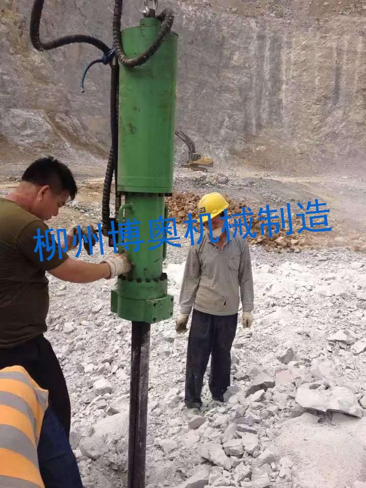 机载劈裂机开石灰石效率高