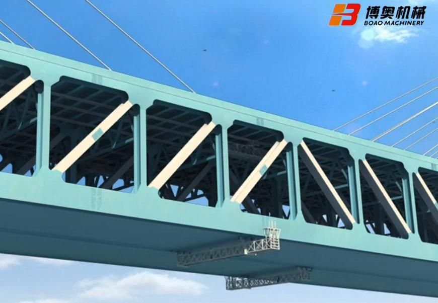桥梁检修小车2