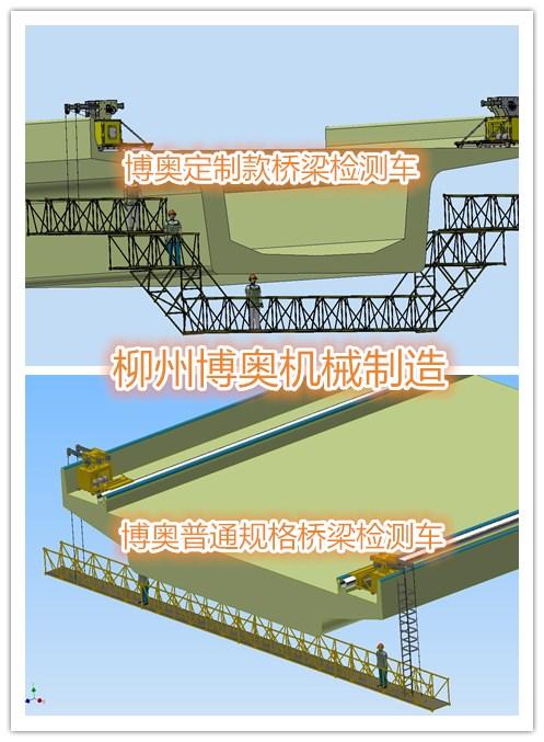 緩解交通壓力,做好保護橋梁是首要工作!---新型橋梁檢測車