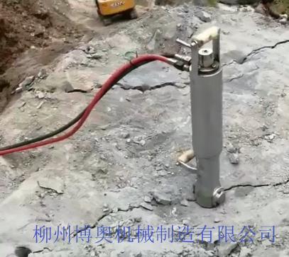 博奥静态破石设备岩石劈裂机成为工程及矿山热门机械