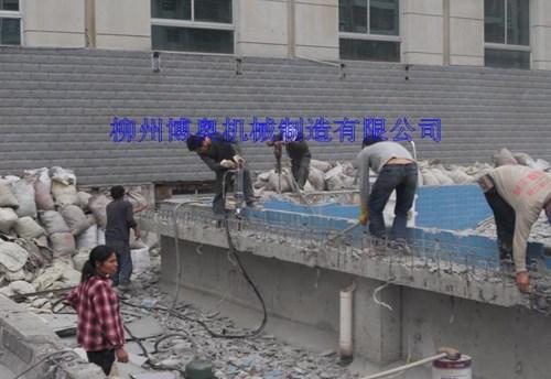 钢筋混凝土拆除