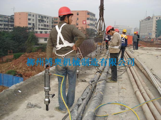 钢筋混凝土桩拆除08
