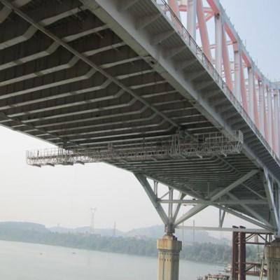 桥底检查小车