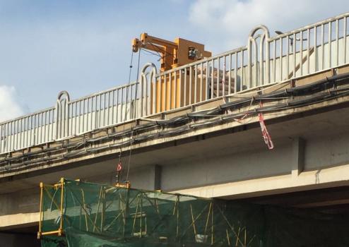 博奧輕量化橋梁檢測車徹底改變了傳統的檢修方式