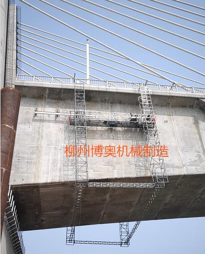 桥梁轨道安装