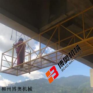 12米高速橋梁檢測施工吊籃設備